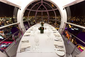 London eye capsule,  Client: London Restaurant Week